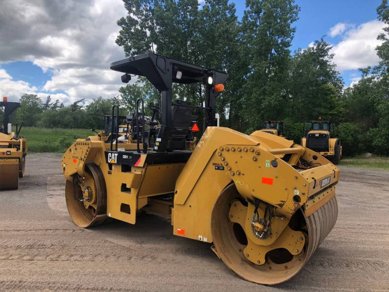 CATERPILLAR TANDEMVIBRATIONSWALZE, ASPHALT CB 54 equipment  photo 16