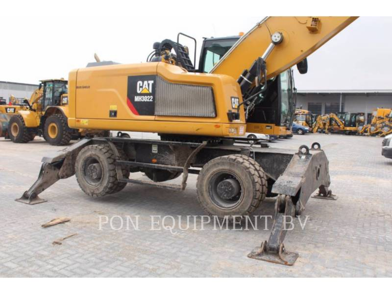 CATERPILLAR ESCAVADEIRAS DE RODAS MH3022 equipment  photo 23