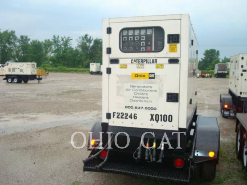 CATERPILLAR PORTABLE GENERATOR SETS XQ100 equipment  photo 3