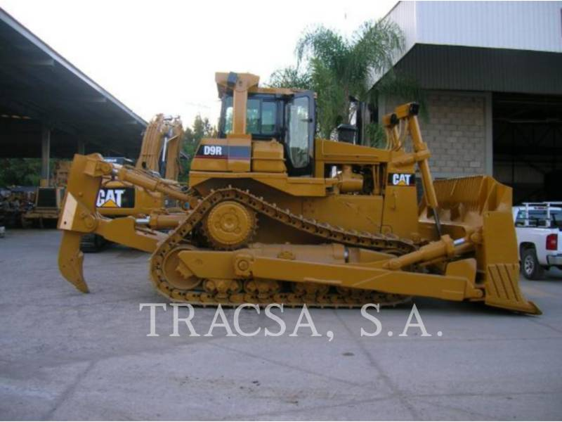 CATERPILLAR TRACK TYPE TRACTORS D9R equipment  photo 4