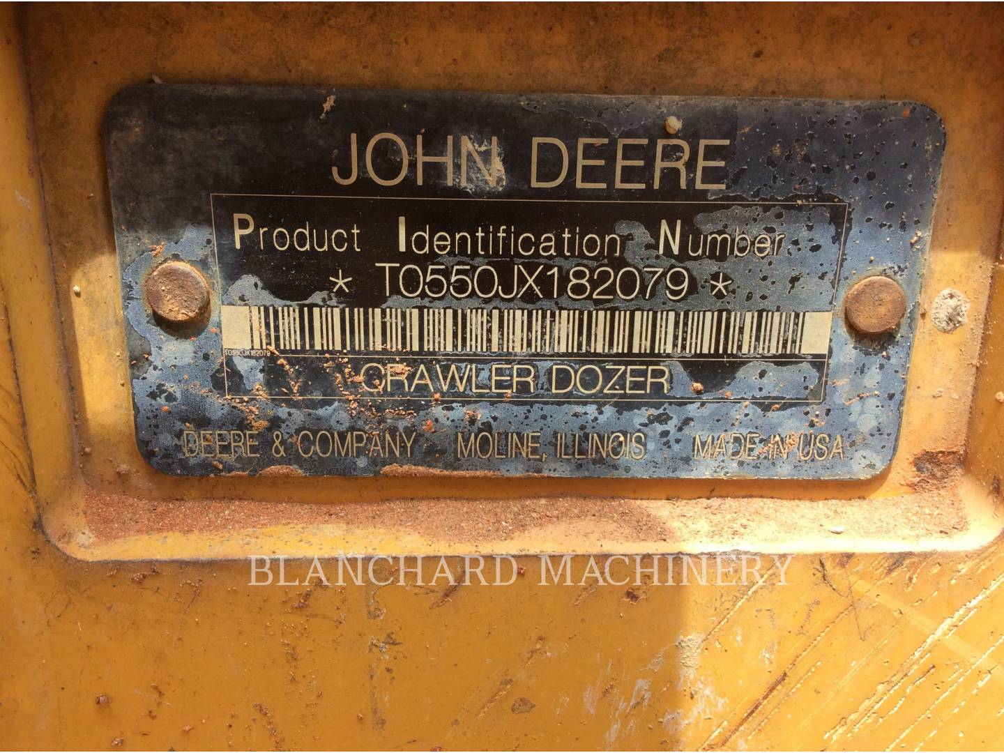 Detail photo of 2010 John Deere 550J LGP from Construction Equipment Guide