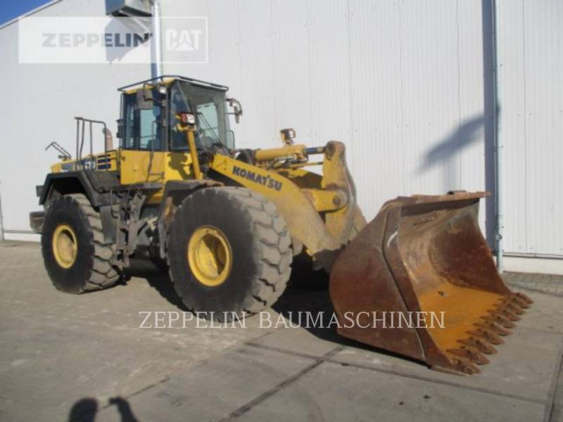 KOMATSU LTD. CARGADORES DE RUEDAS WA470-6 equipment  photo 3