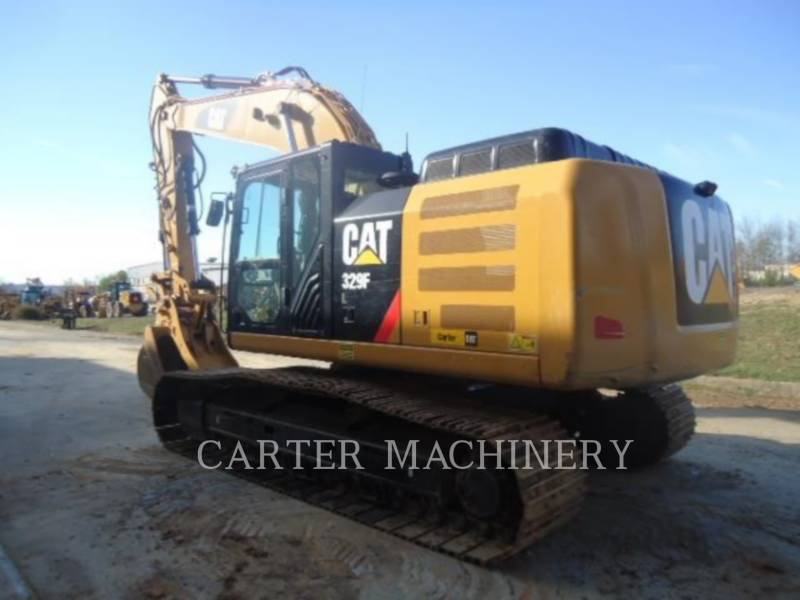 CATERPILLAR KETTEN-HYDRAULIKBAGGER 329F CF equipment  photo 4
