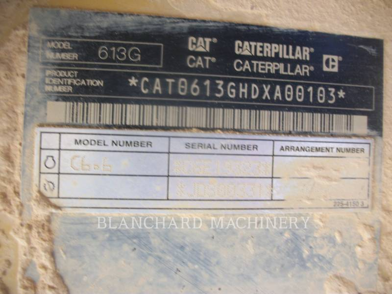 CATERPILLAR MOTOESCREPAS WW613G equipment  photo 11
