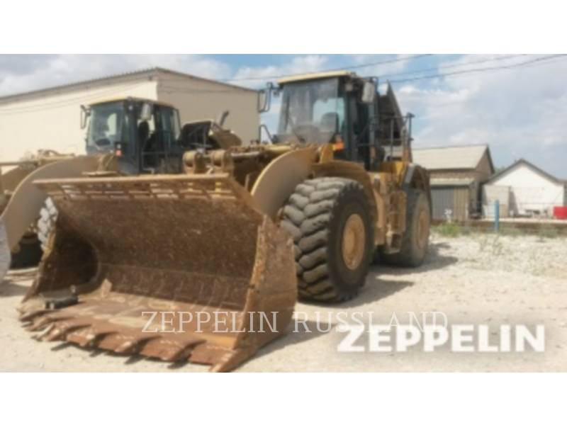 CATERPILLAR MINING WHEEL LOADER 980 G SERIES II HIGH LIFT equipment  photo 1