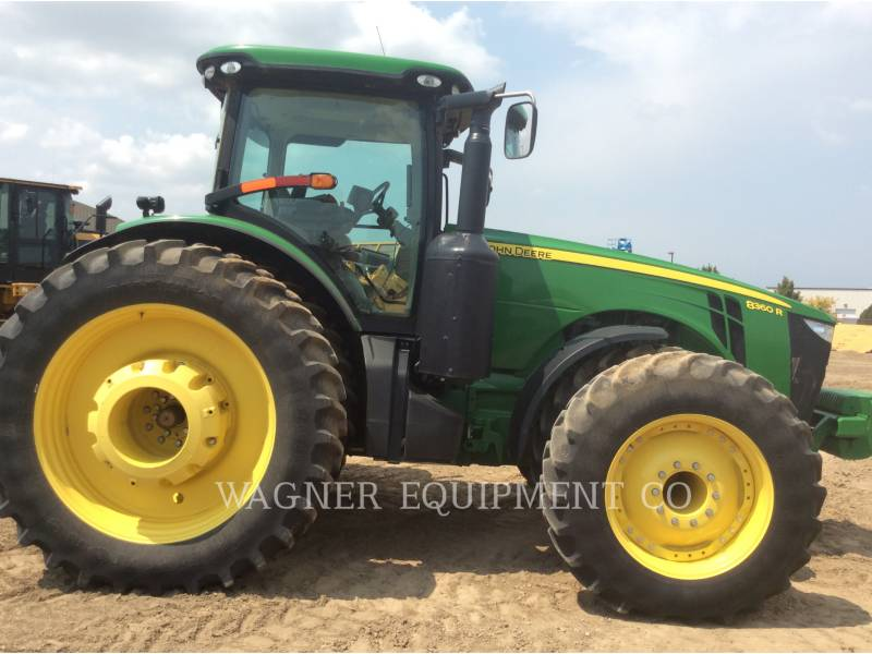 DEERE & CO. AG TRACTORS 8360R equipment  photo 5