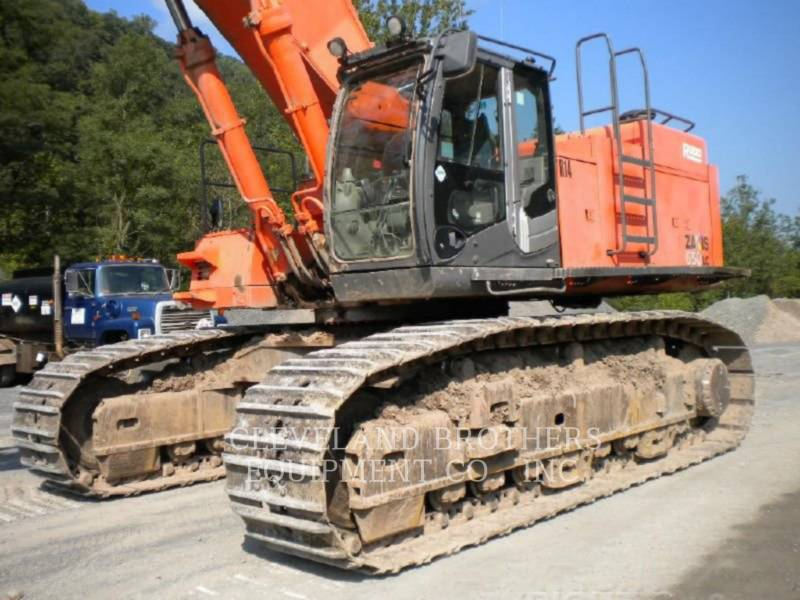 HITACHI KETTEN-HYDRAULIKBAGGER ZX650LC-3 equipment  photo 2