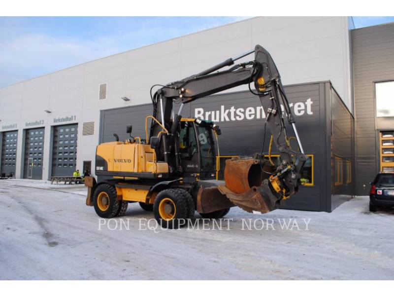 VOLVO KOPARKI GĄSIENICOWE EW140C equipment  photo 8