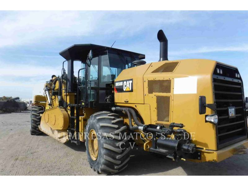 CATERPILLAR ESTABILIZADORES / RECUPERADORES DE CAMINOS RM500B equipment  photo 1
