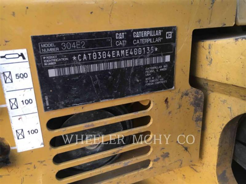 CATERPILLAR PELLES SUR CHAINES 304E2 C3P equipment  photo 5
