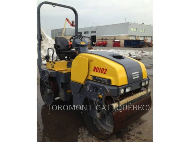 ATLAS-COPCO VIBRATORY DOUBLE DRUM ASPHALT CC1300 equipment  photo 9