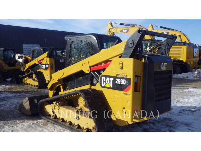 CATERPILLAR UNIWERSALNE ŁADOWARKI 299D2 equipment  photo 6