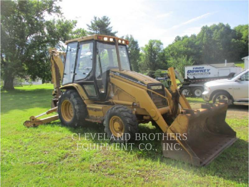 CATERPILLAR BACKHOE LOADERS 416C equipment  photo 2