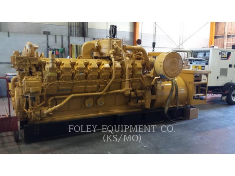 CATERPILLAR 固定式発電装置 G3516EP equipment  photo 1