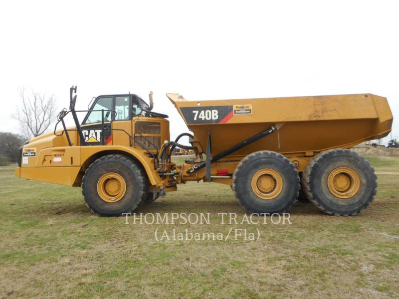 CATERPILLAR ARTICULATED TRUCKS 740B TGATE equipment  photo 9