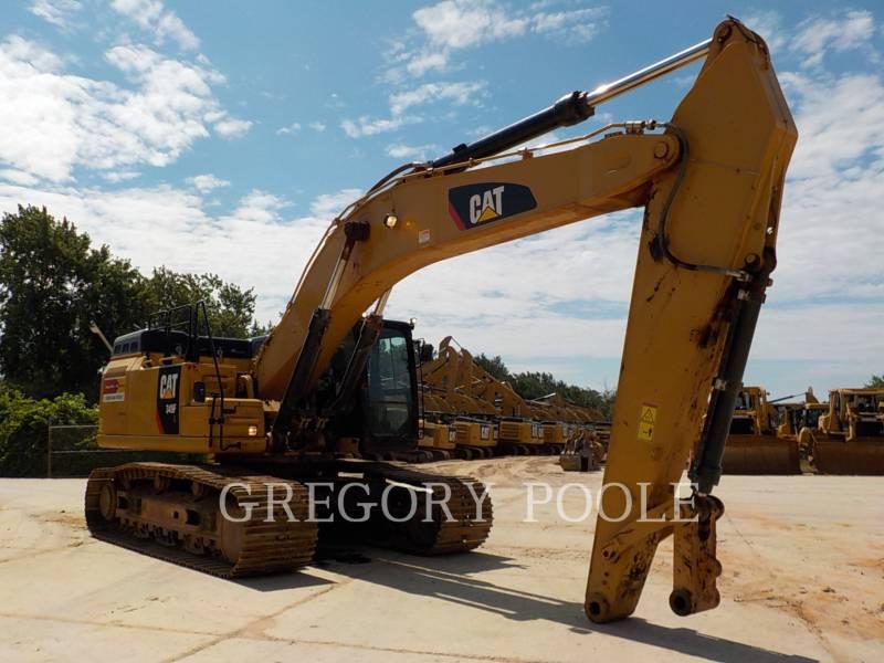 CATERPILLAR TRACK EXCAVATORS 349F L equipment  photo 4