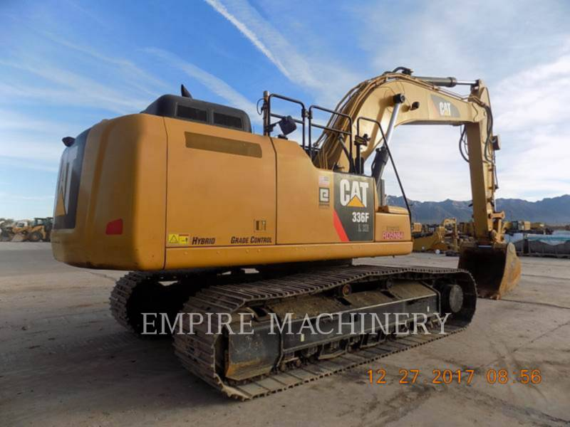 CATERPILLAR EXCAVADORAS DE CADENAS 336FLXE equipment  photo 2