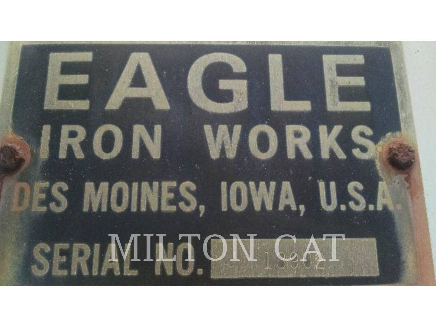 Detail photo of 1990 Eagle Iron Works 10X32 from Construction Equipment Guide