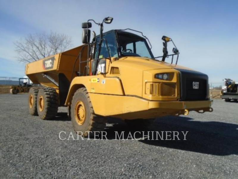 CATERPILLAR TOMBEREAUX ARTICULÉS 730C2 equipment  photo 2