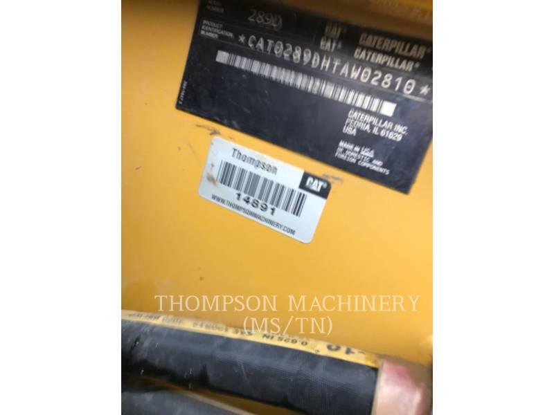 CATERPILLAR SKID STEER LOADERS 289DHF equipment  photo 5