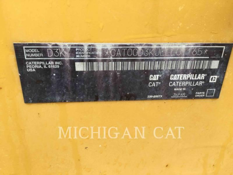 CATERPILLAR TRACK TYPE TRACTORS D3KLGP equipment  photo 24
