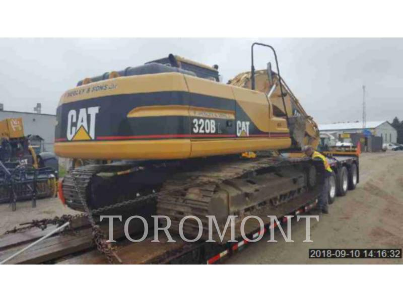 CATERPILLAR TRACK EXCAVATORS 320BL equipment  photo 3