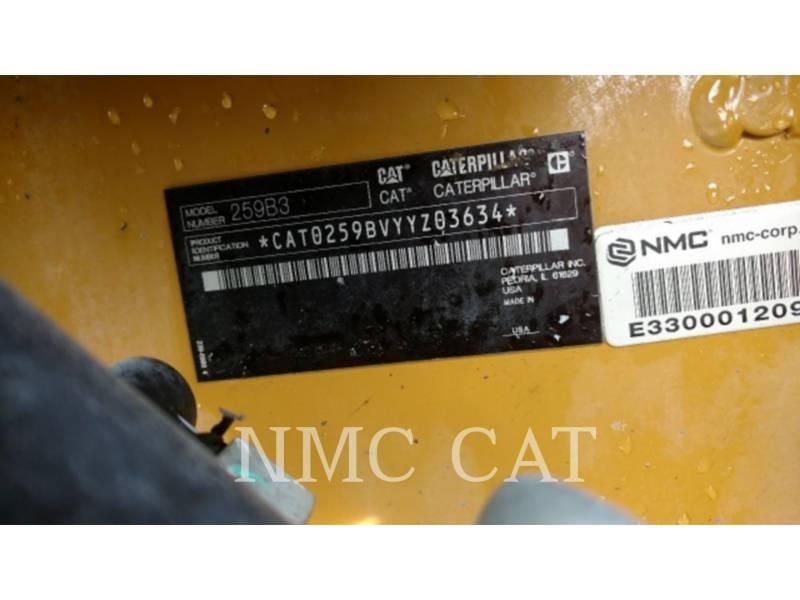 CATERPILLAR UNIWERSALNE ŁADOWARKI 259B3 equipment  photo 6