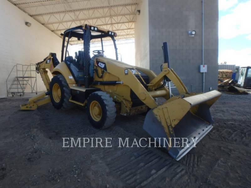 CATERPILLAR BACKHOE LOADERS 420FST equipment  photo 1