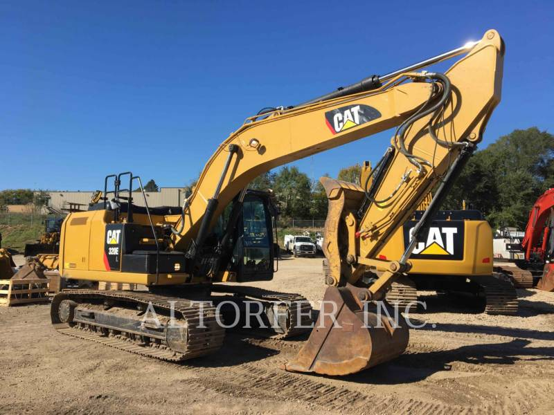 CATERPILLAR KETTEN-HYDRAULIKBAGGER 320EL TH equipment  photo 3