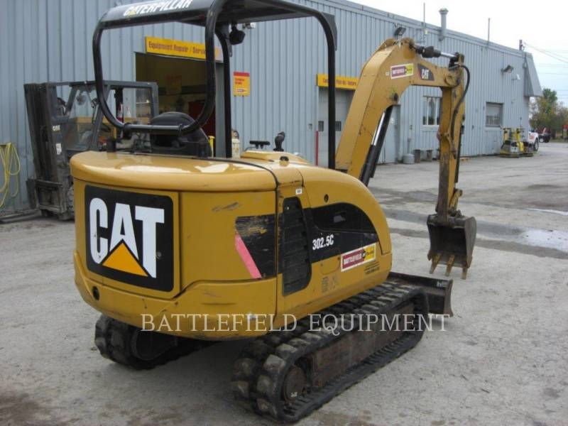 CATERPILLAR KETTEN-HYDRAULIKBAGGER 302.5C equipment  photo 6