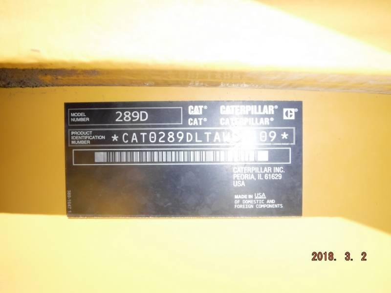 CATERPILLAR 多様地形対応ローダ 289D equipment  photo 14