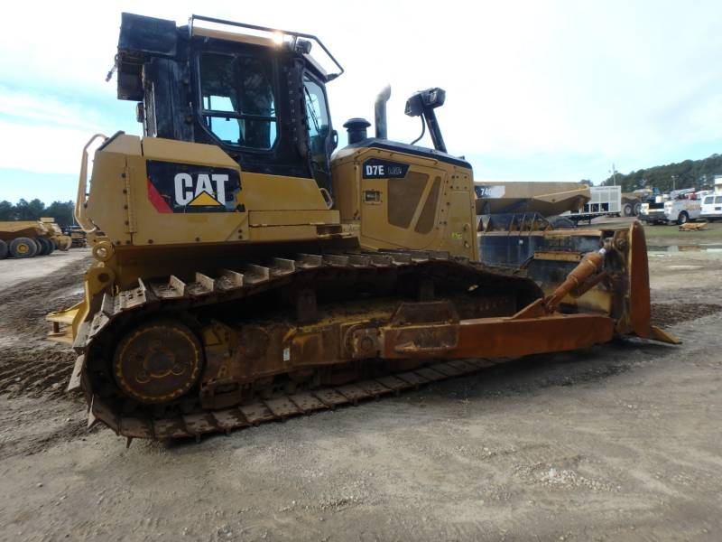 CATERPILLAR TRACTEURS SUR CHAINES D7ELGP equipment  photo 4
