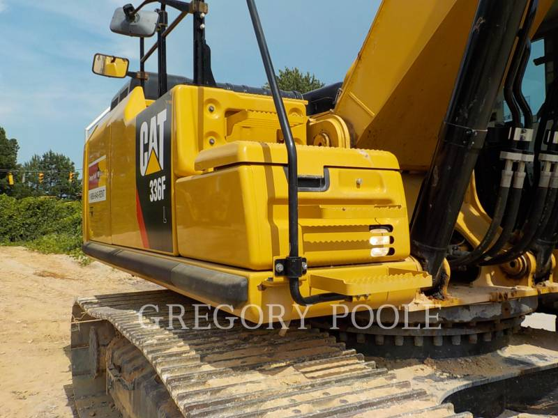 CATERPILLAR TRACK EXCAVATORS 336F equipment  photo 6