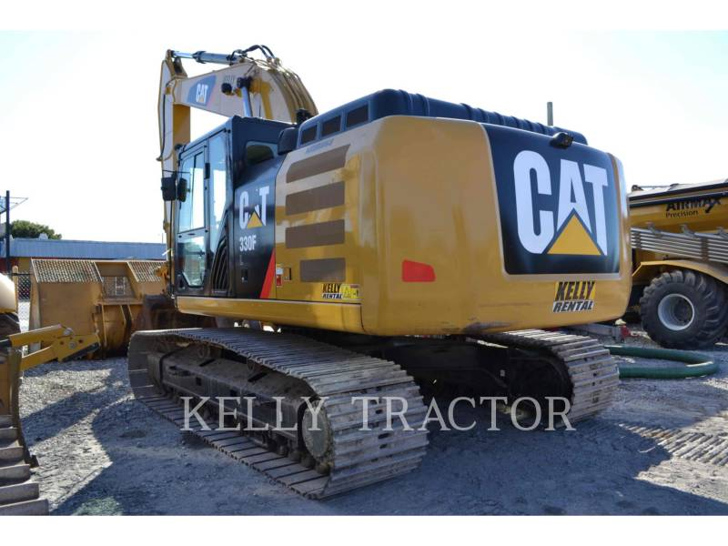 CATERPILLAR TRACK EXCAVATORS 330FL equipment  photo 5