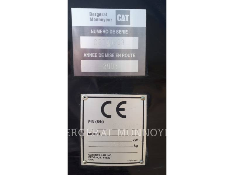 CATERPILLAR KETTEN-HYDRAULIKBAGGER 312CL equipment  photo 8