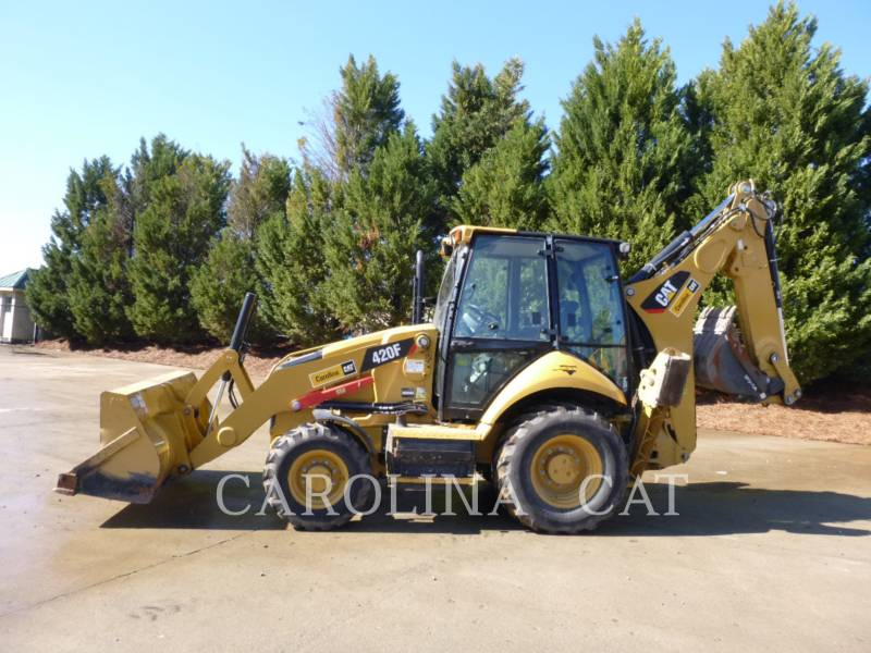 CATERPILLAR BAGGERLADER 420F CB equipment  photo 1
