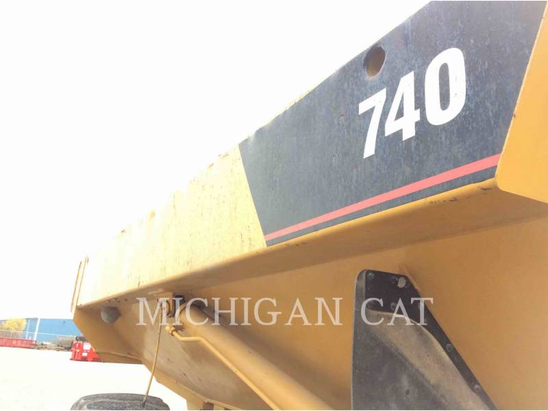 CATERPILLAR ARTICULATED TRUCKS 740 equipment  photo 21