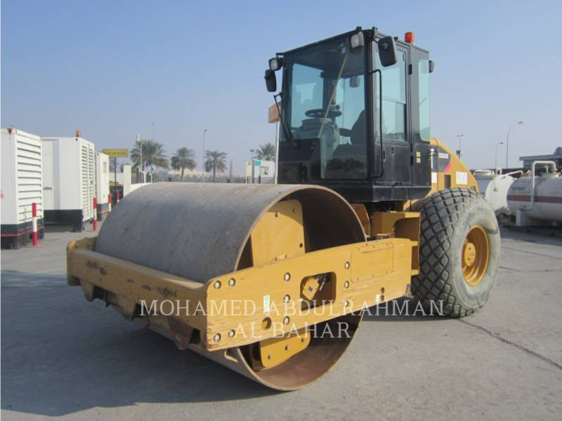 CATERPILLAR EINZELVIBRATIONSWALZE, GLATTBANDAGE CS 533 E equipment  photo 1