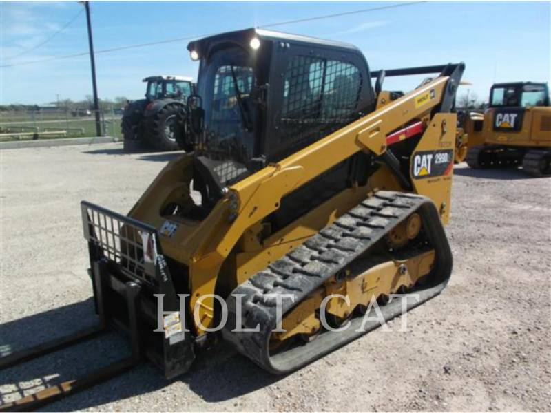 CATERPILLAR MINICARGADORAS 299D XPS equipment  photo 2