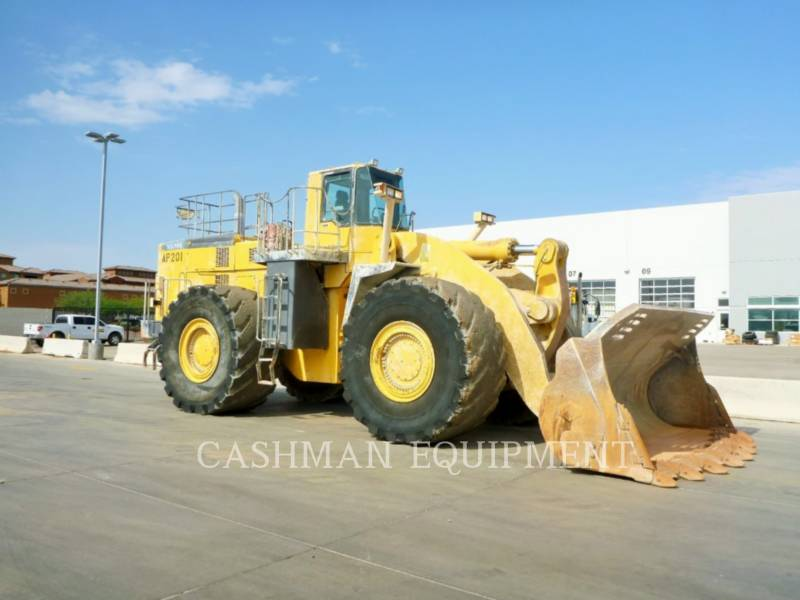 KOMATSU CARGADORES DE RUEDAS WA700-3 equipment  photo 2