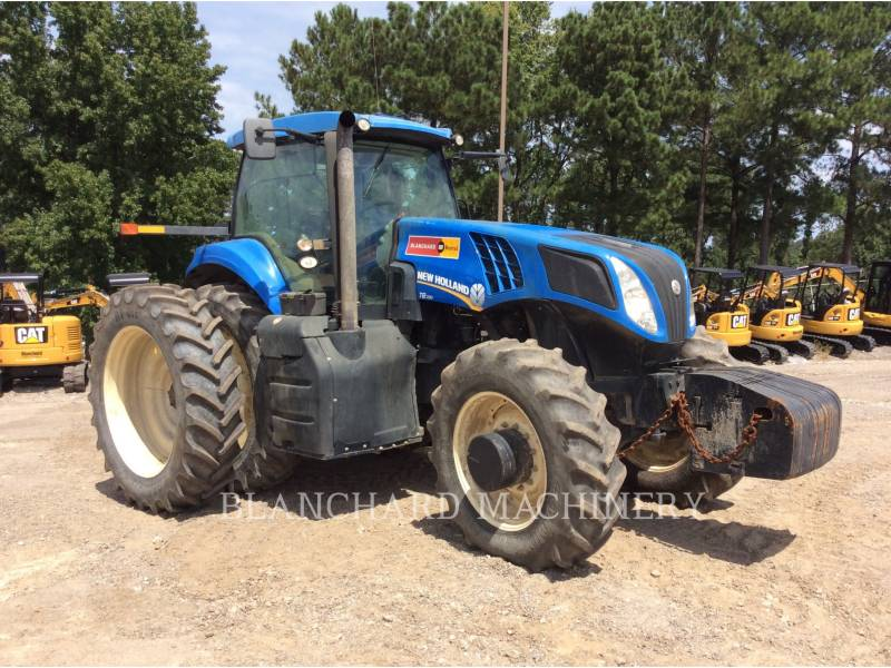 NEW HOLLAND LTD. LANDWIRTSCHAFTSTRAKTOREN T8.330 equipment  photo 1