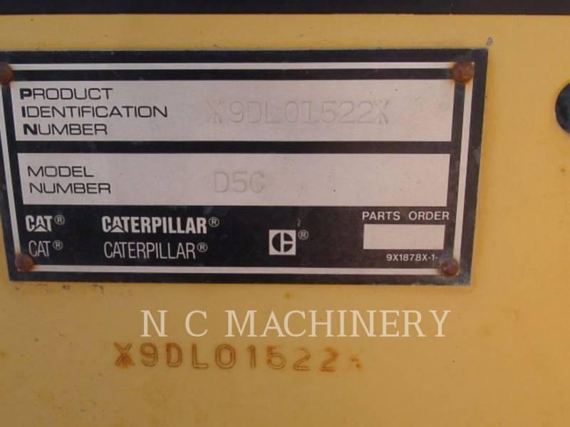 CATERPILLAR TRACK TYPE TRACTORS D5CIII equipment  photo 5