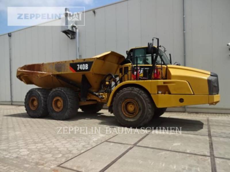 CATERPILLAR KNICKGELENKTE MULDENKIPPER 740B equipment  photo 7
