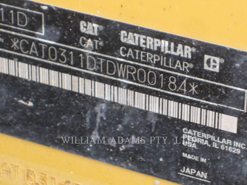 CATERPILLAR EXCAVADORAS DE CADENAS 311 D LRR equipment  photo 9