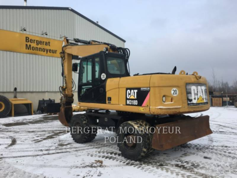 CATERPILLAR KOPARKI KOŁOWE M318D equipment  photo 7