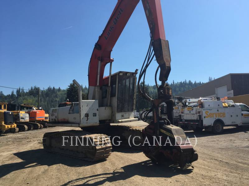 LINK-BELT CONSTRUCTION FORESTRY - PROCESSOR 240LX equipment  photo 2