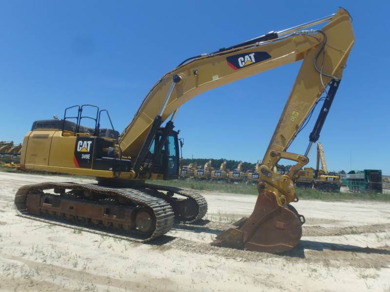 CATERPILLAR TRACK EXCAVATORS 349ELVG equipment  photo 6