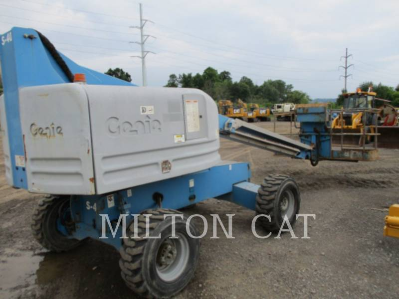 GENIE INDUSTRIES LIFT - BOOM S-40 equipment  photo 3