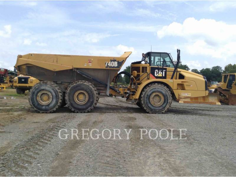 CATERPILLAR ARTICULATED TRUCKS 740B equipment  photo 7