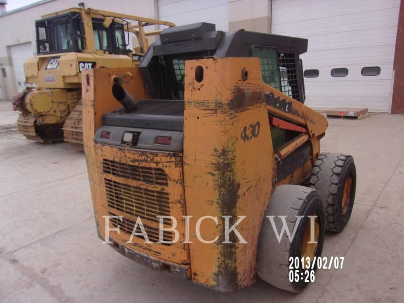 CASE SKID STEER LOADERS 430 equipment  photo 4